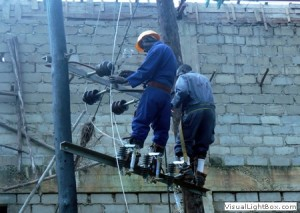 power_line_works_at_silver_springs_bugolobi